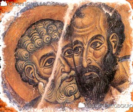 """MARII SI SLAVITII APOSTOLI PETRU SI PAVEL – stavila pastoreasca in fata """"lupilor rai care nu vor cruta turma"""""""