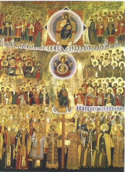<i>Duminica tuturor sfintilor</i>: URMAREA LUI HRISTOS, ALEGERILE DUREROASE SI MARTURISIREA LUI INTREAGA