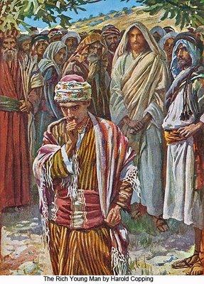 Fuga de Dumnezeu si TANARUL BOGAT DIN NOI