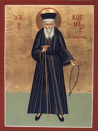 PARACLISUL Sfantului sfintit Mucenic si intocmai cu Apostolii COSMA ETOLIANUL (24 august)
