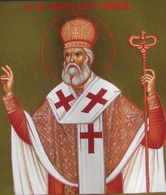 Slujba Sfantului Ierarh Martir Antim Ivireanul