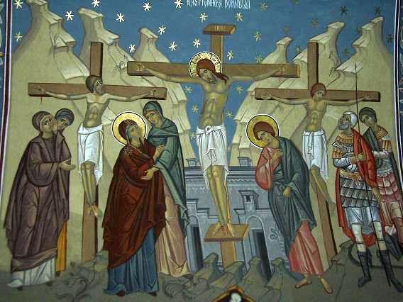 Ierom. Ioan Buliga: CRUCEA – SEMNUL IUBIRII LUI DUMNEZEU PENTRU LUME