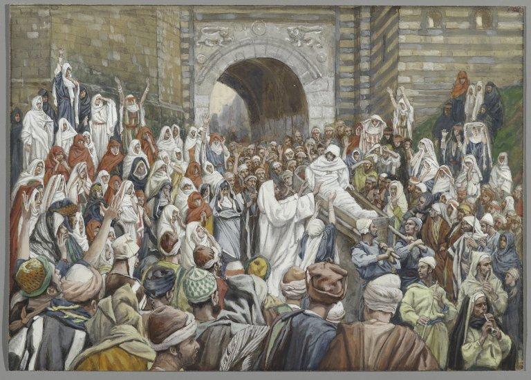 Invierea fiului vaduvei din Nain si MOARTEA LANCEZELII NOASTRE