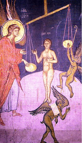 Detail from the Last Judgement, Decani