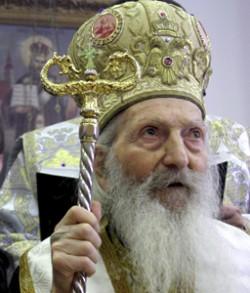 Patrijarh Pavle izašao iz bolesničke sobe i obeležio Lazarevu subotu