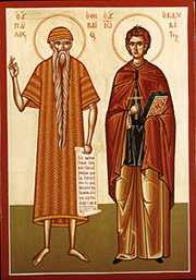 Sts. Paul of Thebes & John the Hutdweller