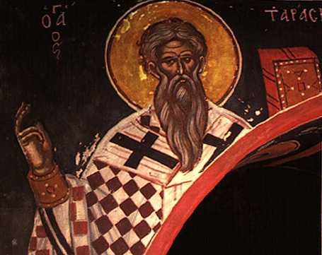 SFANTUL PATRIARH TARASIE: pilda de curaj evanghelic si smerenie dumnezeiasca