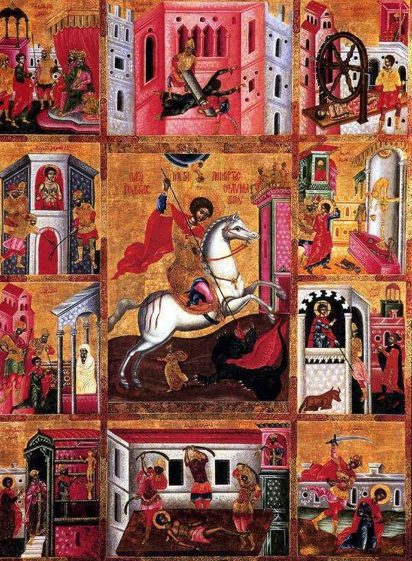 Praznicul Sfantului Mare Mucenic Gheorghe, purtatorul de biruinta: MUCENICII, DOVADA INVIERII LUI HRISTOS