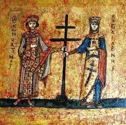 PREDICA MITROPOLITULUI AUGUSTIN DE FLORINA la praznicul Sfintilor Imparati Constantin si Elena