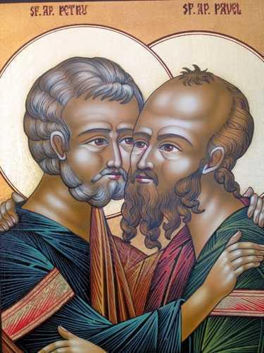 DE ZIUA SFINTILOR APOSTOLI PETRU SI PAVEL – invitatie la a ne hrani iara si iara din izvorul cuvintelor vii din epistolele lor