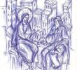 """IN FATA LUI IISUS: Viata launtrica a Duhului vs. falsa Ortodoxie a pietismului si moralismului religios. La ce """"folosesc"""" Sfintele Taine?"""