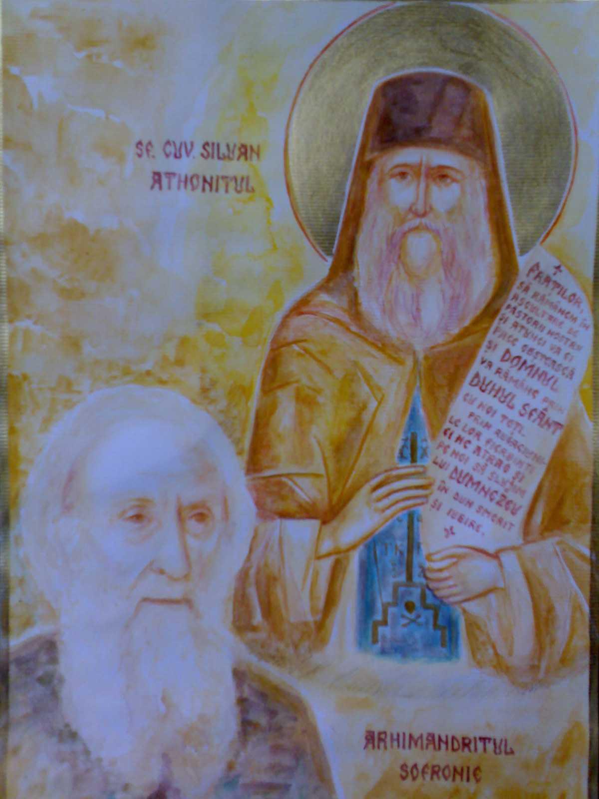 """Noi marturii despre Sfintii Siluan si Sofronie. DARUL CUVANTULUI TAMADUITOR SI TAINA """"REPETITIEI"""" DUHOVNICESTI"""