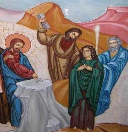 Osandirea feneii adultere de catre farisei