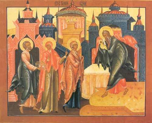 """<b><i>""""Iata, Mirele vine! Iesiti intru INTAMPINAREA Lui!""""</i></b>. Sfantul Teofan Zavoratul ne invata CUM SA GUSTAM SI NOI DIN FERICIREA DREPTULUI SIMEON"""
