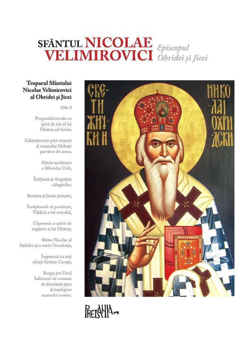SFANTUL NICOLAE VELIMIROVICI. <b>Documentar video: Sfantul Nicolae al Serbiei</b> (Viata Sfantului Nicolae, Episcopul Ohridei)