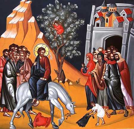 INTRAREA DOMNULUI IN IERUSALIM (Duminica &#8220;Floriilor&#8221;). Despre SUPERFICIALITATEA si NESTATORNICIA SENTIMENTELOR OMENESTI. <b>Cat valoreaza si cat dureaza osanalele multimilor care asteapta un rege (lider) pamantesc?</b>