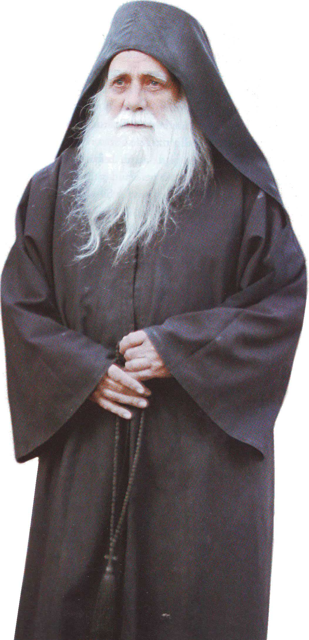 "AVVA IULIAN LAZAR, duhovnicul schitului Prodromu: <i>""Multumescu-ti Tie, Doamne, ca-mi ingadui sa vorbesc cu Tine!""</i>"