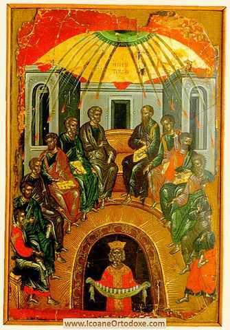 """Predica Sfantului Luca al Crimeei (11 iunie) pentru ZIUA CINCIZECIMII (RUSALII): <i>""""IMPARATE CERESC, MANGAIETORULE&#8230;""""</i>. Unde (nu) locuieste Sfantul Duh?"""