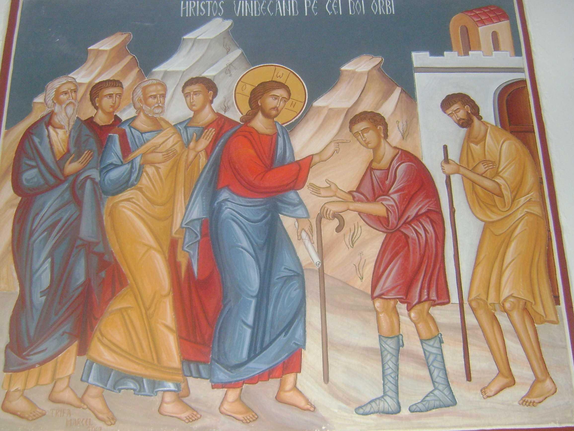 Predica importanta a PS Sebastian la vindecarea a doi orbi si un mut: DISCRETIA DOMNULUI SI SETEA DE SPECTACOL SI DE SUCCES IEFTIN A LUMII