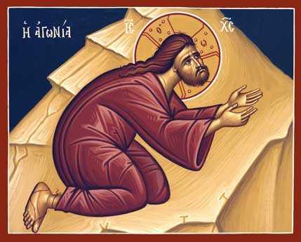 Agonia lui Hristos in Ghetsimani