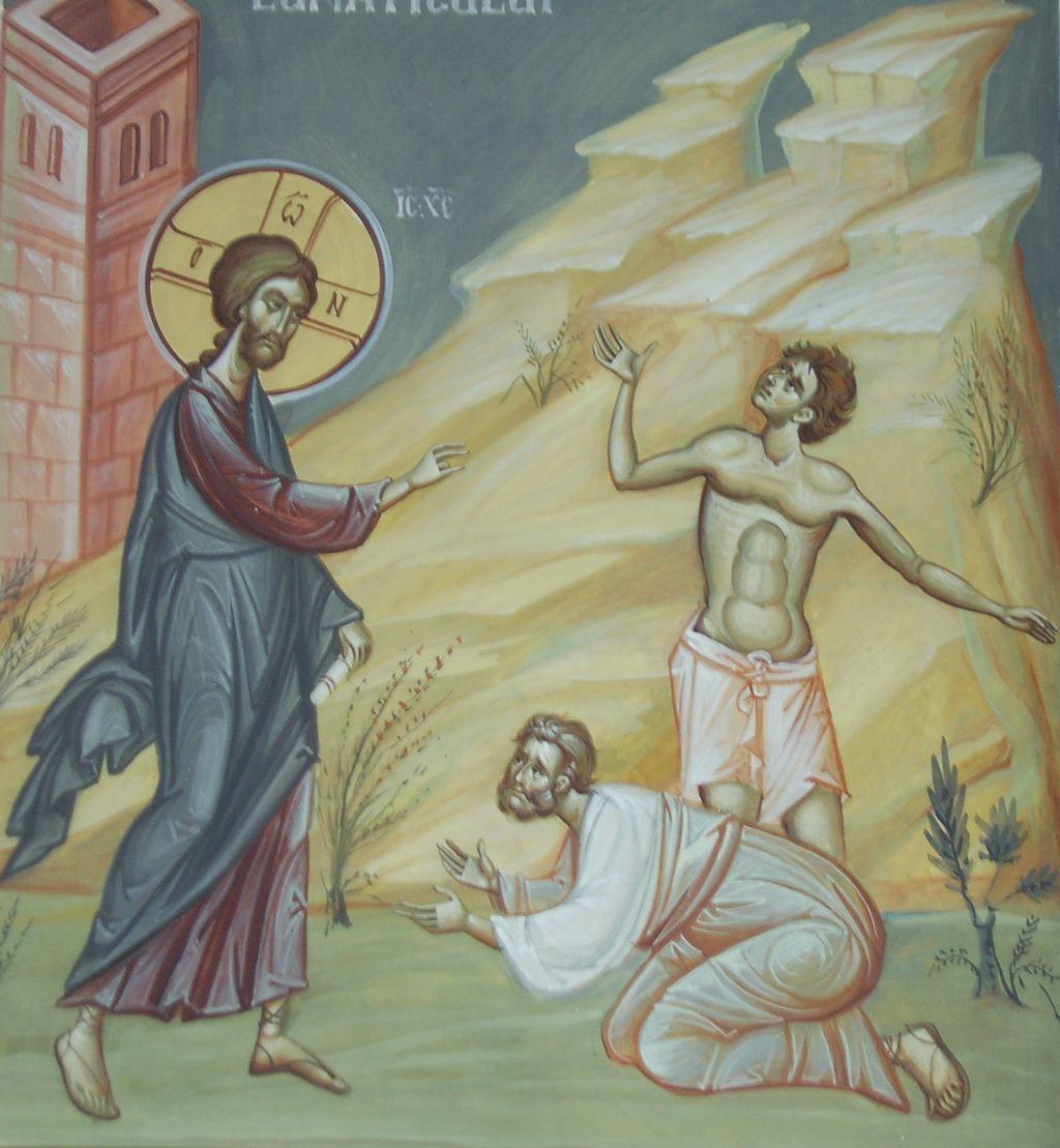 vindecarea lunaticului - Ioan Popa,  Biserica Sfanta Treime, Bucuresti