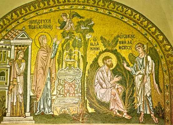 IOACHIM SI ANA – SFINTII, DREPTII SI DUMNEZEIESTII PARINTI AI MAICII LUI DUMNEZEU