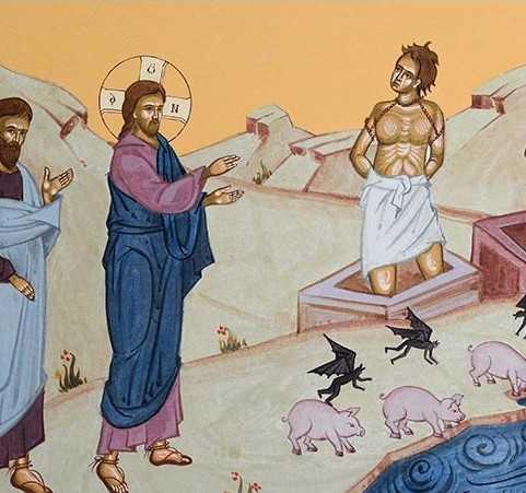 """NE PASA UNII DE ALTII? O predica de referinta a Parintelui Dosoftei de la Putna <i>(audio si text)</i> despre TALCUL EVANGHELIEI DEMONIZATULUI DIN GADARA, PENTRU NOI, CEI DE ASTAZI. """"Marturisirea adevarata se naste din rugaciune si rugaciunea se hraneste cu marturisirea Adevarului"""""""