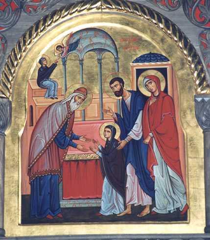 Predica Parintelui Sofian la INTRAREA IN BISERICA A MAICII DOMNULUI