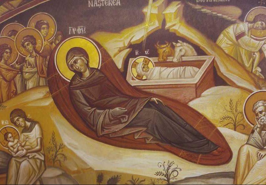 NASTEREA DOMNULUI. Predica Parintelui Iachint Unciuleac si cuvinte ale Sfantului Ioan Gura de Aur la marele praznic al inomenirii Fiului lui Dumnezeu