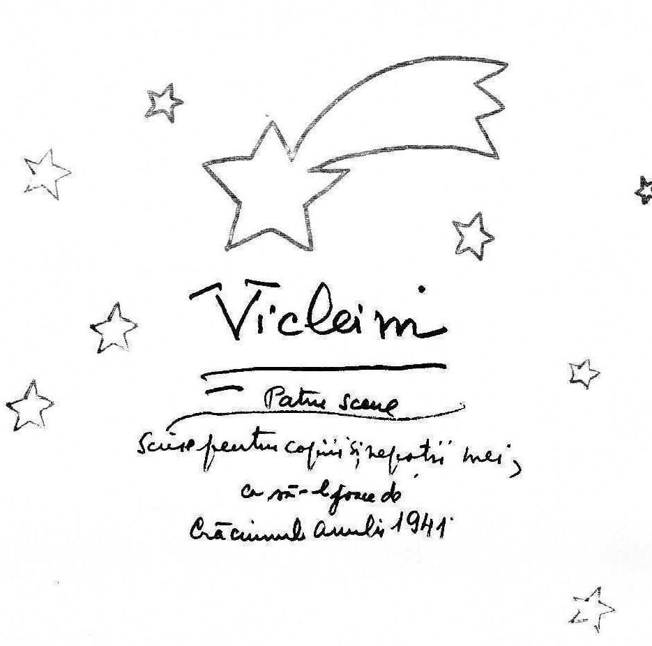 <i>VICLEIM</i> de Mircea Vulcanescu. CUM SE TRAIA SI SE INTAMPINA CRACIUNUL IN ROMANIA VECHE