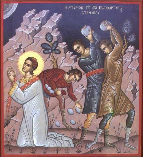 """Predica Parintelui GHEORGHE CALCIU la praznicul SFANTULUI ARHIDIACON STEFAN: <i>""""Sa fim printre cei care renuntam macar la o parte din cele ale lumii acesteia, ca sa stam langa Iisus Hristos</i>, intr-o lume in care ni se cere macar curajul de a marturisi pe Dumnezeu, de a suporta batjocura"""""""