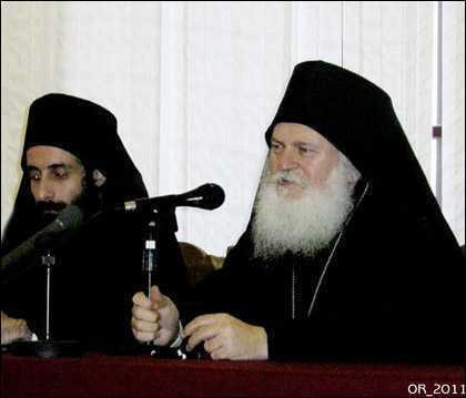 Egumenul Efrem de la Vatopedi: MINUNILE MARILOR DUHOVNICI, SFINTI CONTEMPORANI (2002, <i>Facultatea de Teologie + Biserica Rusa, Bucuresti</i> &#8211; VIDEO)
