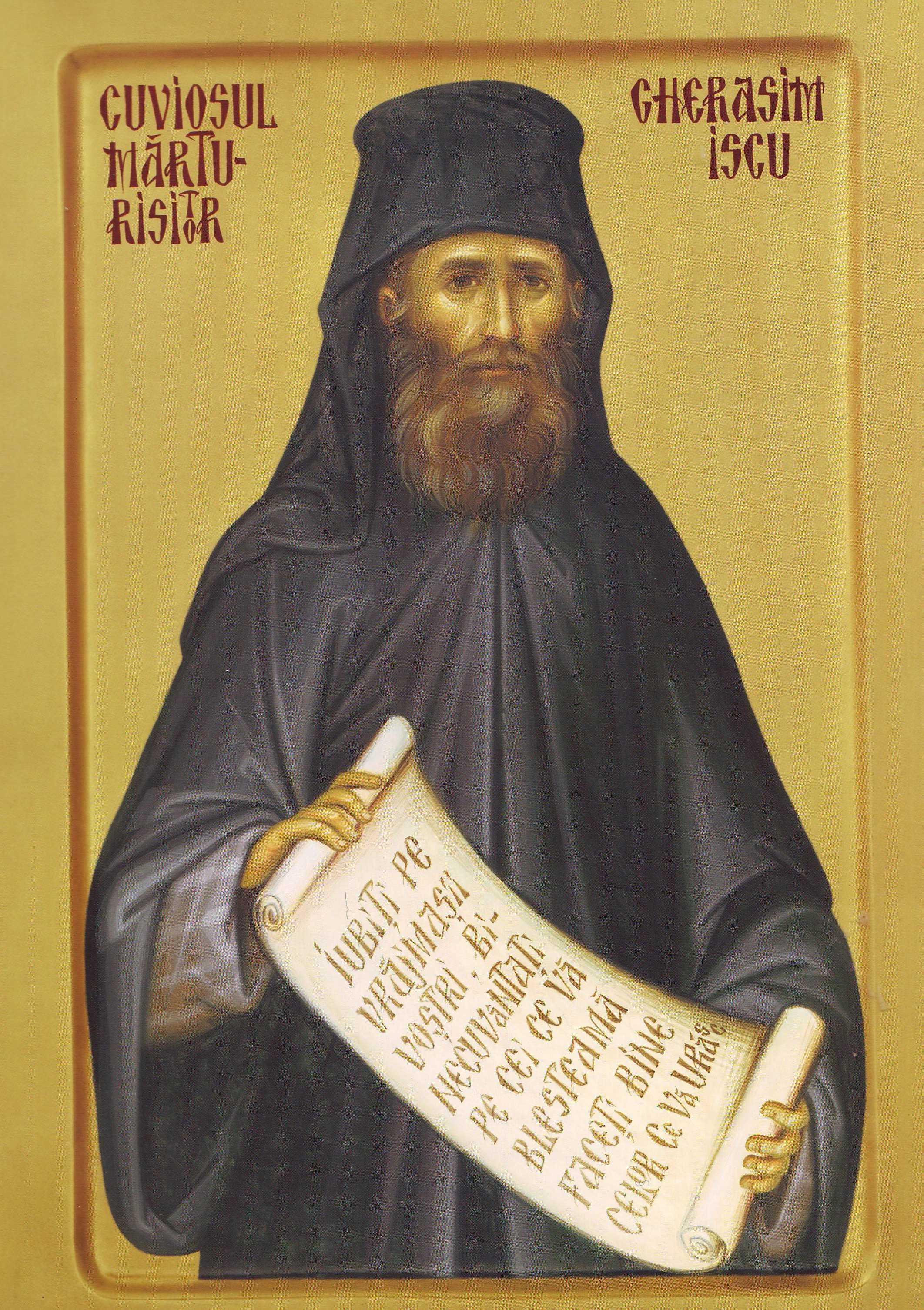 Viata cuviosului martir GHERASIM ISCU si marturia pretioasa data de nepotul sau, IOAN ISCU