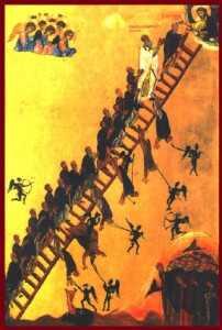 lupta cu diavolii in urcusul spre Cer