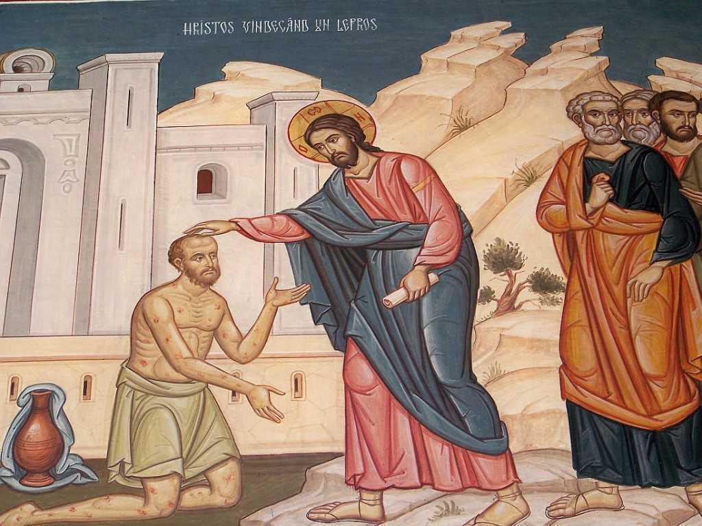 leprosul recunoscator samarinean