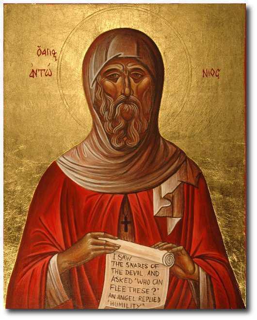 SFANTUL ANTONIE CEL MARE. Predica Parintelui Sofian Boghiu