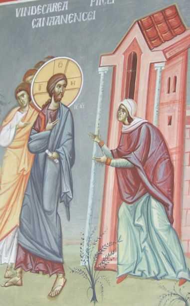 FEMEIA CANAANEANCA. Predica PS Sebastian, Episcopul Slatinei, despre STARUINTA SMERENIEI