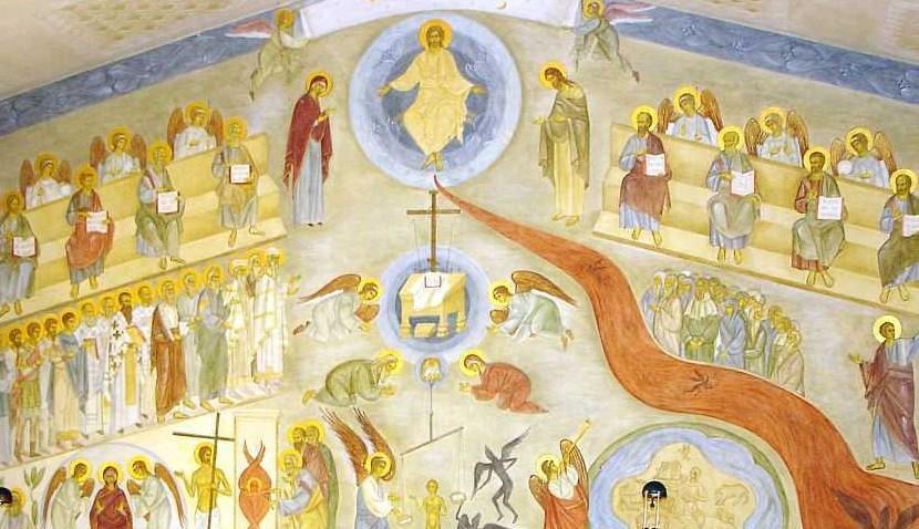 """SINAXARUL DUMINICII INFRICOSATEI JUDECATI descrie A Doua Venire a lui Hristos, careia ii va premerge venirea lui Antihrist: <i>""""Va fi atunci foamete mare. Va veni, asa zicand, in ajutorul poporului…""""</i>"""