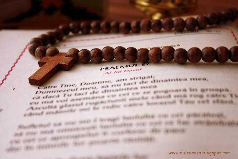 PSALTIREA IN POSTUL MARE. Sa ne rugam impreuna si in acest Post!