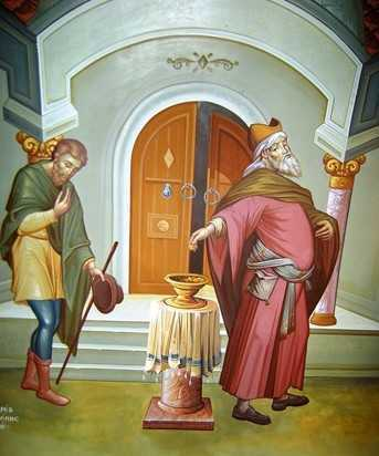 icoana pilda fariseu vames