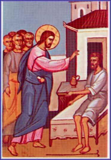 DUMINICA A DOUA DIN POSTUL MARE. Talcuirea Evangheliei vindecarii slabanogului din Capernaum: DESPRE PACAT SI BOALA, CRIZA SI IPOCRIZIE
