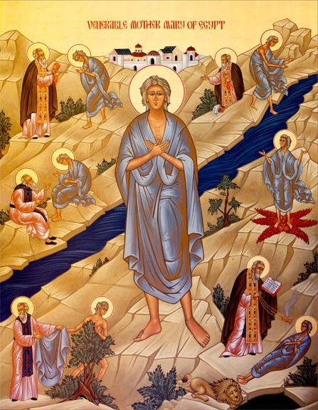 "INTOARCEREA MARIEI EGIPTEANCA si a FEMEII PACATOASE din Evanghelie, IN ADANCUL INIMII carora <i>""Dumnezeu a vazut altceva""</i>…"