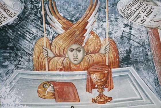Hristos in Sfintele Taine