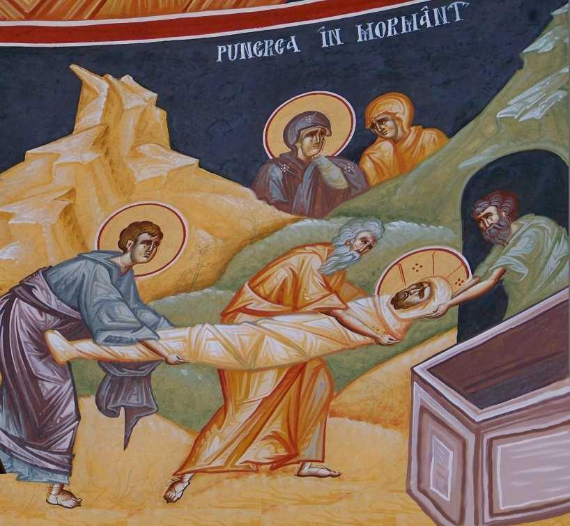 ingroparea Domnului - Mihai Coman, biserica Sf. Grigorie Palama Bucuresti