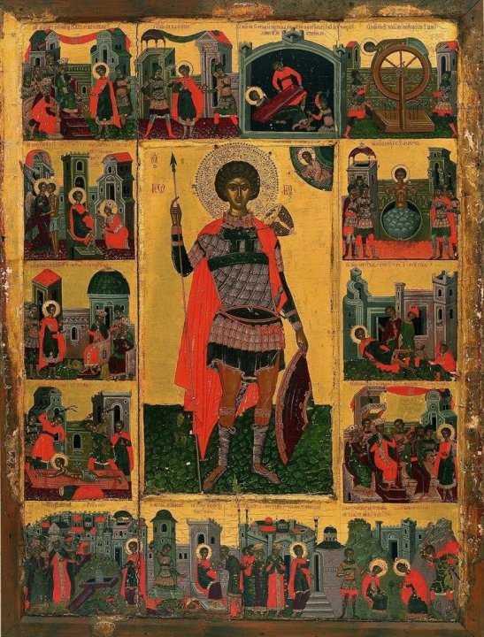 SFANTUL GHEORGHE. Predica Parintelui Sofian despre MUCENICI