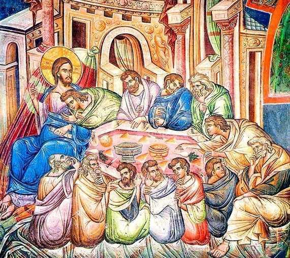 SFANTA SI MAREA JOI. CINA CEA DE TAINA. Hristos ni Se da azi spre mancare. <b>Cum sa-L tinem si sa-L odihnim in casa sufletului nostru si dupa Impartasire?</b>