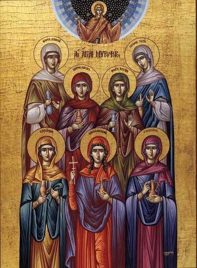 <b>DUMINICA FEMEILOR MIRONOSITE</b>. Predicile Sfantului Luca al Crimeei si Parintelui Sofian Boghiu: CUM PUTEM MERGE PE CALEA SFINTELOR FEMEI?
