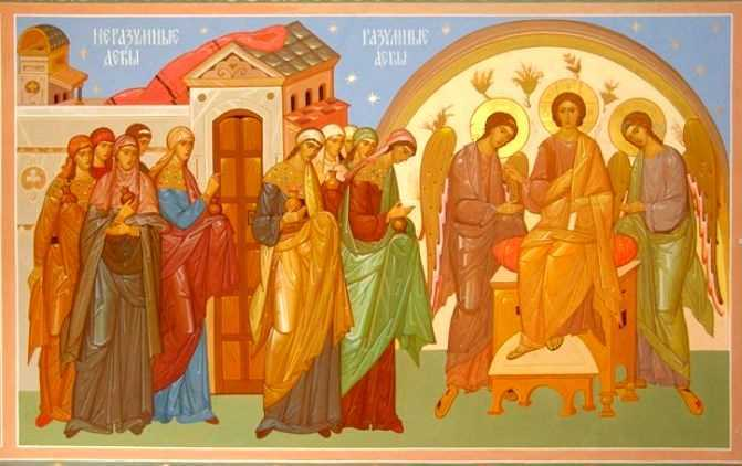 Intre NUNTIREA INIMII CU HRISTOS si IUBIRILE NOASTRE NELEGIUITE: Talcuirea Sfantului Nicolae Velimirovici la <b>Evanghelia nuntii fiului de imparat</b>