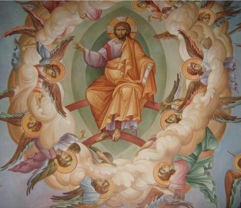 INALTAREA DOMNULUI. Predicile marilor parinti IACHINT UNCIULEAC si SOFIAN BOGHIU. <b>Hristos S-a inaltat!</b>
