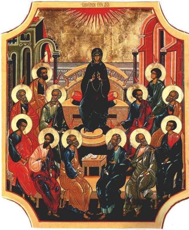 Predicile Sfantului Inochentie al Penzei la Rusalii: DUHUL SFANT – SINGURA PUTERE SI SINGURA BOGATIE ADEVARATA A OMULUI. Lupta cu duhurile rautatii
